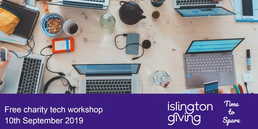 Free charity tech workshop with Time to Spare