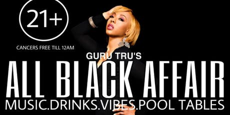GuruTru All Black Affair tickets