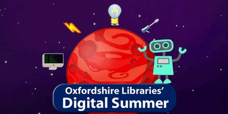 Oxfordshire County Library: Digital Summer 3D printing tickets