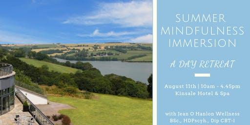 Summer Mindfulness Immersion