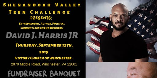 Shenandoah Valley Teen Challenge Fundraiser Banquet hosts David J. Harris