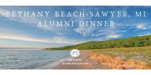 Alumni Dinner at Bethany Beach- Sawyer, MI