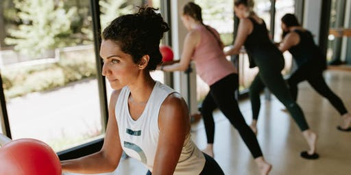 Community  Free Barre3 Class with our Trainee Lauren