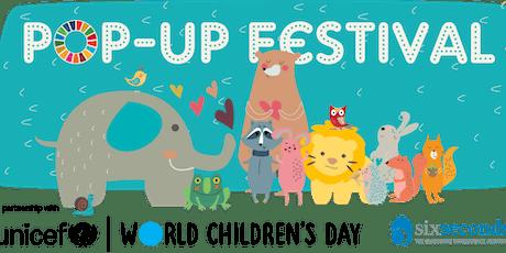 Presentazione POP-UP Festival delle Emozioni, del Benessere e dei Diritti dei Bambini  biglietti