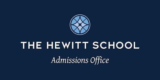 The Hewitt School - Upper School Open House RSVP 2019