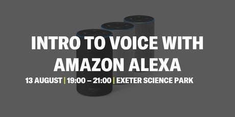 Intro to Voice with Amazon Alexa tickets