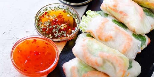 Cooking Class: Asian Wraps