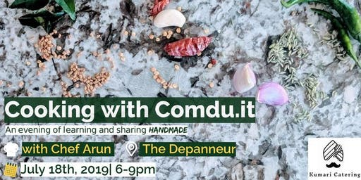 Cooking with Comdu.it: An Evening of Learning and Sharing HANDMADE