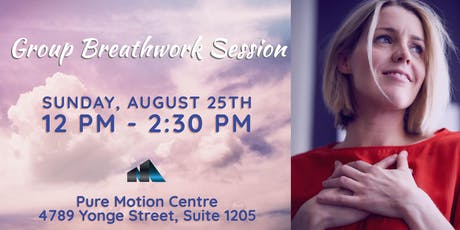 Breathwork at Pure Motion tickets