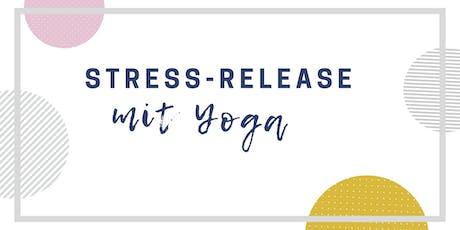 Yoga & Stressrelease für Nacken, Schultern und Rücken tickets