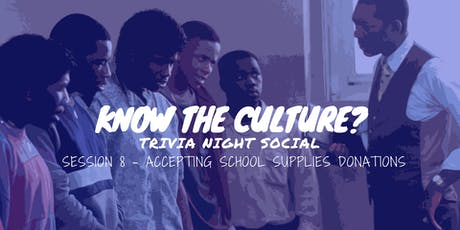 Know Your Culture? Trivia Social (August Edition) tickets