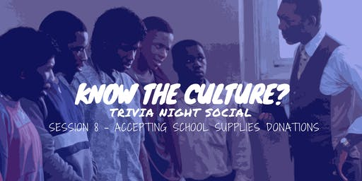 Know Your Culture? Trivia Social (August Edition)