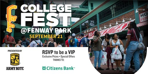CollegeFest at Fenway 2019