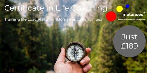 Certificate in Life Coaching