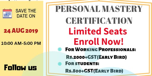 Personal Mastery Certification