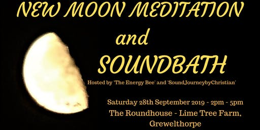 New Moon Meditation and Soundbath