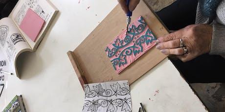 Hand Carved Stamp Workshop tickets