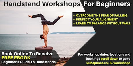 Handstand Workshop Brighton (Suitable for Beginner tickets