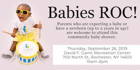 Babies ROC! - Community Baby Shower tickets