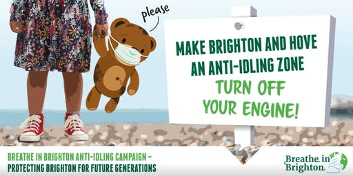 Breathe in Brighton: Anti-Idling campaign launch