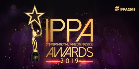IPPA (International Pakistan Prestige Awards) 2019 tickets