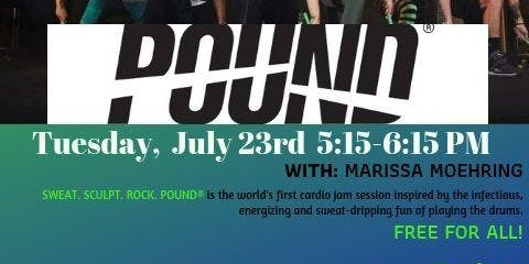 Specialty POUND Drumming-Style Class