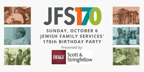 JFS' 170th Birthday Party tickets
