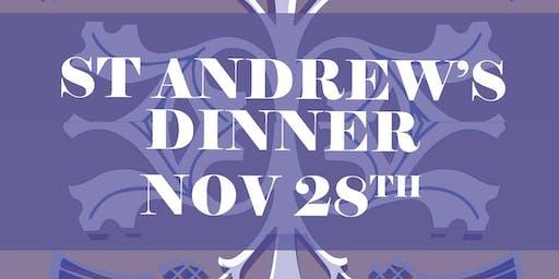 St Andrew's Celebration Dinner