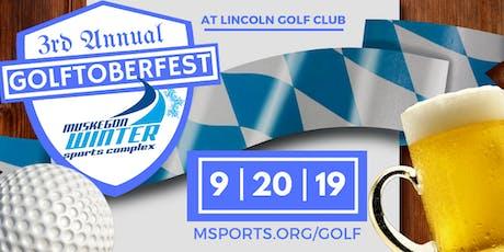 3rd Annual Golftoberfest tickets