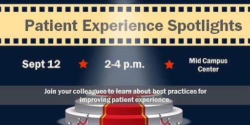 Patient Experience Spotlights