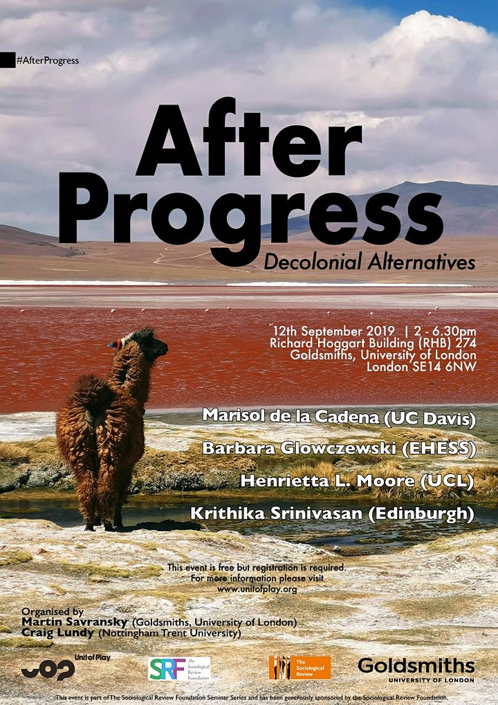 After Progress | Decolonial Alternatives image