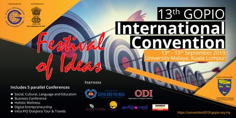 GOPIO International Convention 2019 tickets