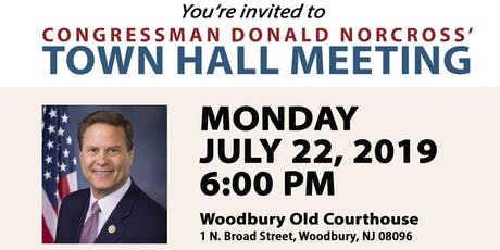 Woodbury, NJ Town Hall Meeting tickets