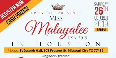 Miss Malayalee USA pageant tickets