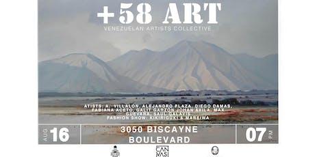 +58 ART tickets