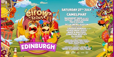 elrow Town Edinburgh tickets