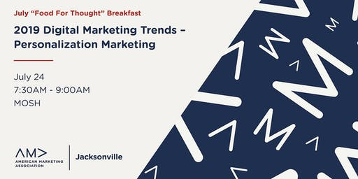 """July """"Food for Thought"""" Breakfast with AMA Jacksonville"""