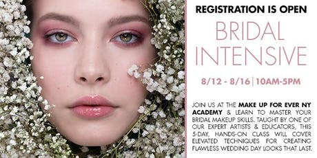 MAKE UP FOR EVER Beauty & Fashion BRIDAL Beauty Intensive tickets