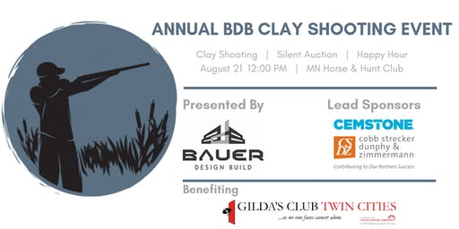 Annual BDB Sporting Clay Fundraiser benefiting Gilda's Club Twin Cities