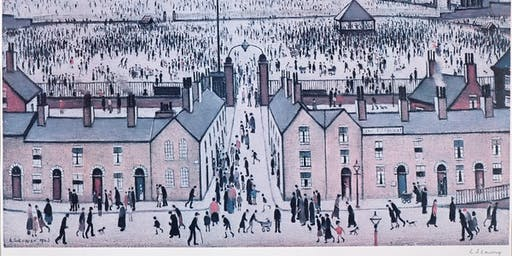 L.S Lowry Exhibition at Whitewall Galleries Knutsford