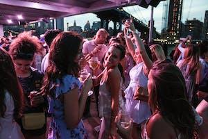 Saturday Midnight NYC Yacht Booze Cruise