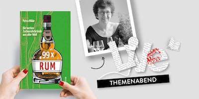 THEMENABEND: Rum-Tasting mit Petra Milde