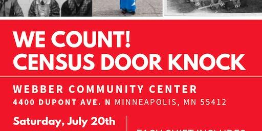 We Count! Census Door-knock