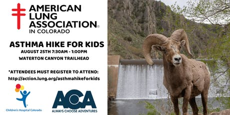 Asthma Hike for Kids with American Lung Association & Children's Hospital  tickets