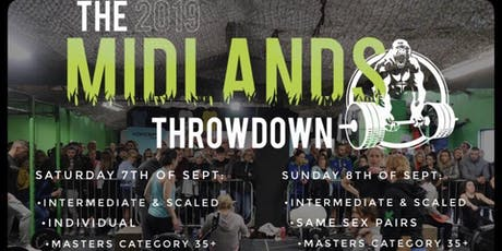 The Midlands Throwdown- INDIVIDUAL tickets