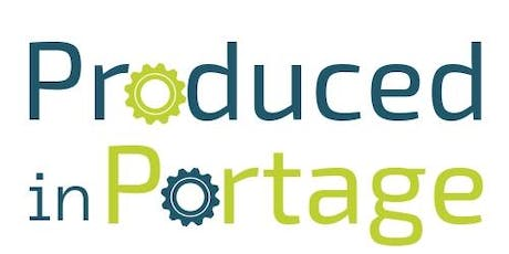 Produced in Portage-Company Registration tickets