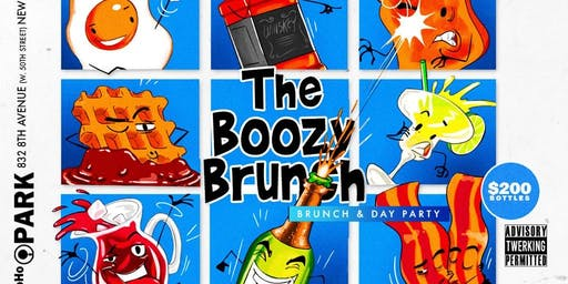 The Boozy Brunch - Brunch & Day Party - Labor Day Weekend Edition