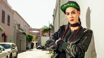 Comedian Marcella Arguello