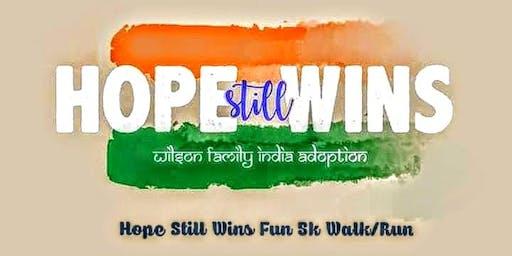 Hope Still Wins 5K Fun Walk/Run