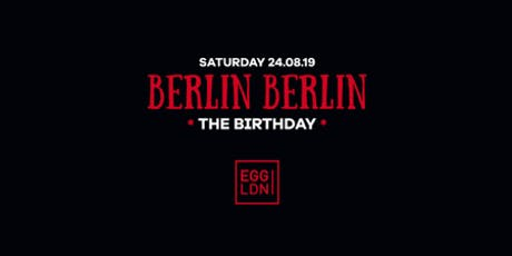 Berlin Berlin: The Birthday tickets